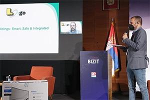 Logo na BIZIT konferenciji 2020.